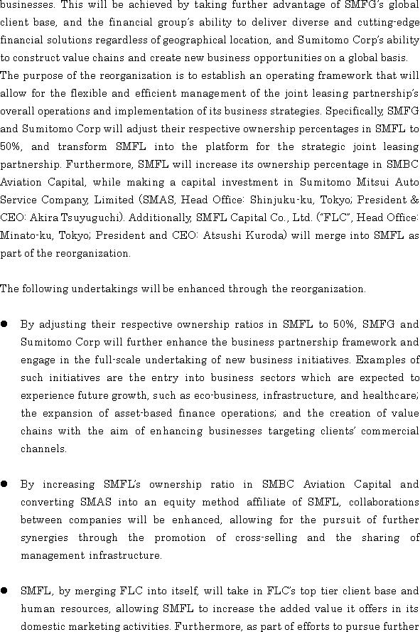 News Releases Sumitomo Mitsui Financial Group